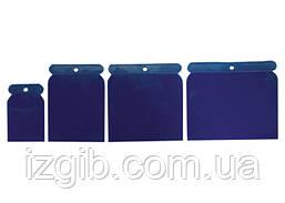 Набор шпателей японских пластмассовых Sparta 50-75-100-120мм, 4 шт.