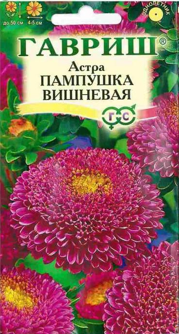 Астра Пампушка Вишневая, 0.3г