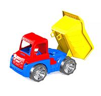 Игрушечная машина Самосвал.Детская пластмассовая грузовая машина.