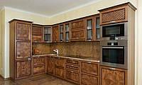 Кухонные фасады из массива натурального дерева, фото 1