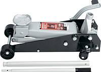 Домкрат гидравлический Matrix Master 3.5 т, подкатный, h- 145-490 мм, с педалью