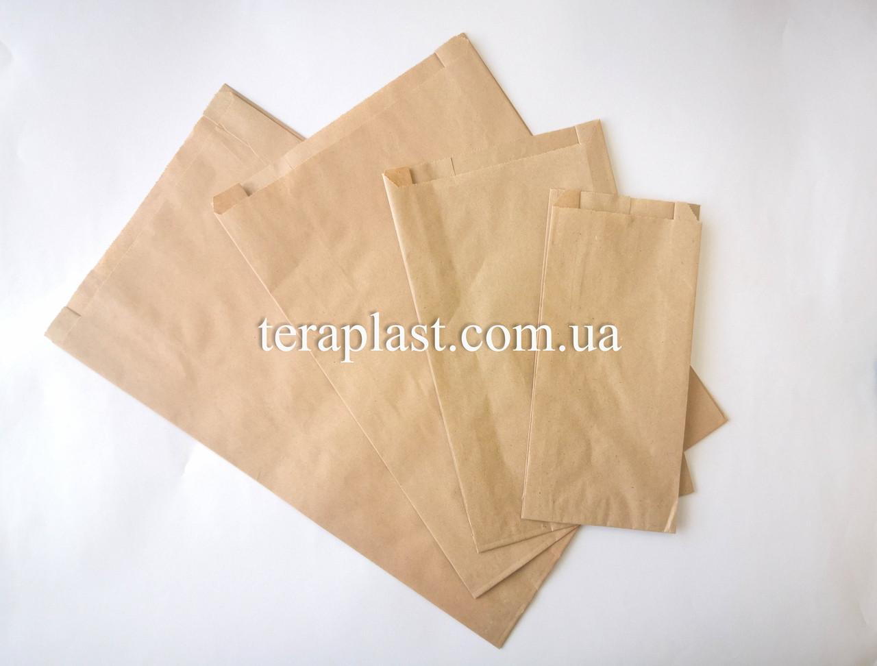 Пакет бумажный саше 100*40*210