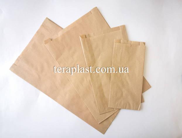 Пакет бумажный саше 100*40*210, фото 2