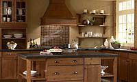 Деревянные фасады на кухню с индивидуальным дизайн-проектом, фото 1