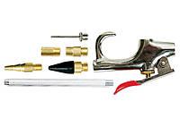 Набор продувочный пистолет Matrix, пневматический, в комплекте с насадками 6 шт