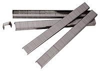 Скобы для пнев. степл. Matrix 10 мм, шир.- 1,2 мм, тол.- 0,6 мм, шир. скобы-11,2 мм