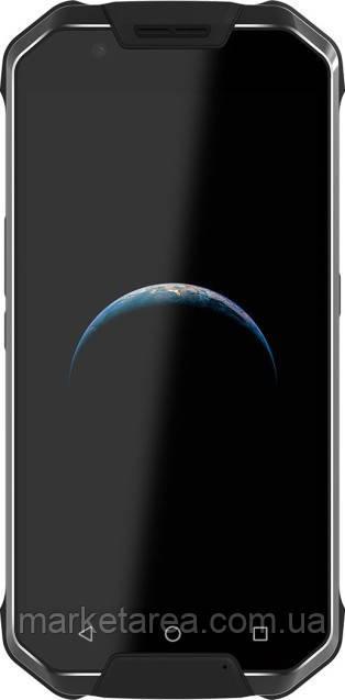 Смартфон защищенный черный с большим дисплеем и мощной батареей на 2 симки AGM X2 SE 6/64 Black leather NFC