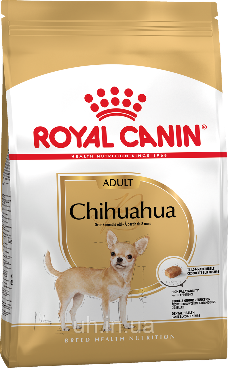 Royal Canin Chihuahua 28 Adult сухой корм для собак от 8 месяцев 1,5КГ
