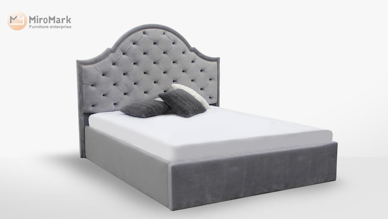 Кровать Милан 1,60 м. (ассортимент цветов)