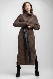 Вязаные теплые платья