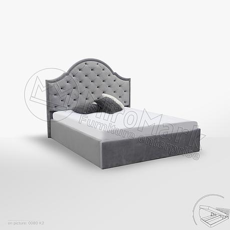 Кровать Милан 1,60 м. с подъемным механизмом (ассортимент цветов), фото 2