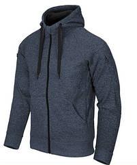 Куртка COVERT TACTICAL HOODIE (FullZip) - Blue Melange