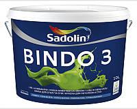Краска латексная SADOLIN BINDO 3 интерьерная ВW-белая 10л
