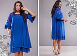 Стильное платье   (размеры 50-64) 0219-98, фото 4