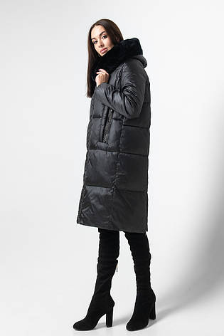 Куртка женская BATTERFLEI 1933 черный, фото 2