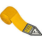 Бинты боксерские RDX Fibra Yellow 4.5m, фото 4