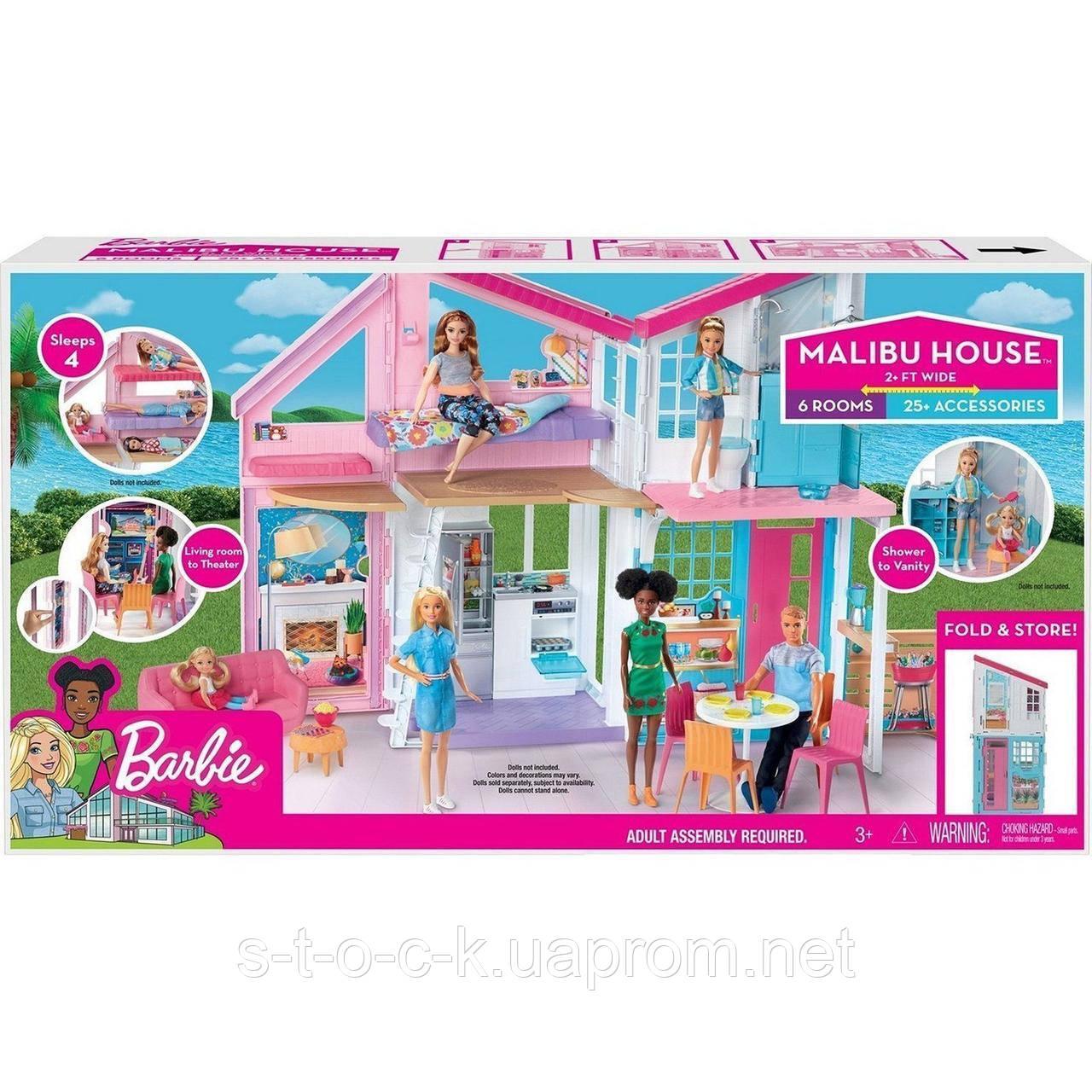 Городской дом Барби Малибу FXG57. Производитель: Mattel