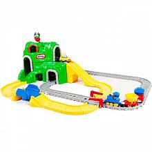 Железная дорога с вагонами Little Tikes 4252