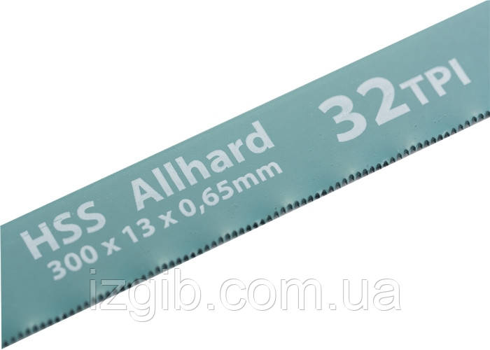 Полотна для ножовки по металлу Gross 300 мм 32TPI HSS