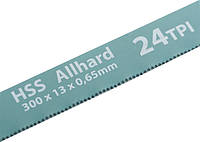 Полотна для ножовки по металлу Gross 300 мм 24TPI HSS