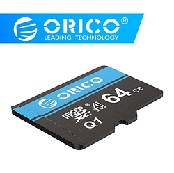 Карта памяти Micro SD 64Gb ORICO Class 10 + Адаптер