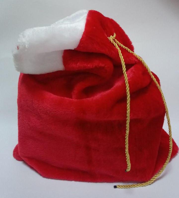 Мешок для подарков меховый 64*44 см