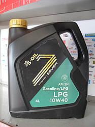 Моторное масло S-oil seven lpg 10w40