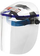 Щиток защитный Matrix 425х220 мм, пластик, защита для лица, цельный корпус