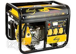 Генератор бензиновый Denzel DB2500, 2,2 кВт, 220В/50Гц, 15 л, ручной пуск