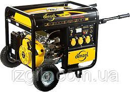 Генератор бензиновый Denzel DB5000Е, 4,5 кВт, 220В/50Гц, 25 л, электростартер