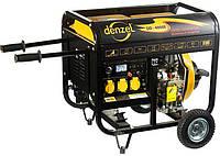 Генератор дизельный Denzel DD4000Е, 3 кВт, 220В/50Гц, 12.5 л, электростартер