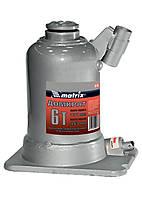 Домкрат гидравлический Matrix 6 т бутылочный телескопический, подъем 171–453 мм