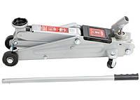 Домкрат гидравлический Matrix 3 т подкатный, h- 130–410 мм, поворотная ручка