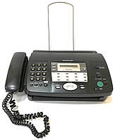 Факсимільний апарат телефон-факс Panasonic KX-FT908UA Б/У + Термопапір, фото 1