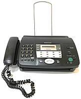 Факсимильный аппарат телефон-факс Panasonic KX-FT908UA Б/У + Термобумага