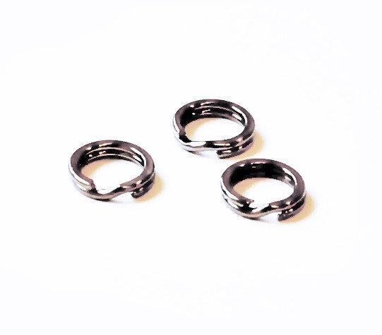 Кольцо заводное №2, d=4 мм, тест-12 кг (10 шт.)