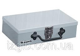 Ящик для инструмента Matrix 284х160х78 мм металлический