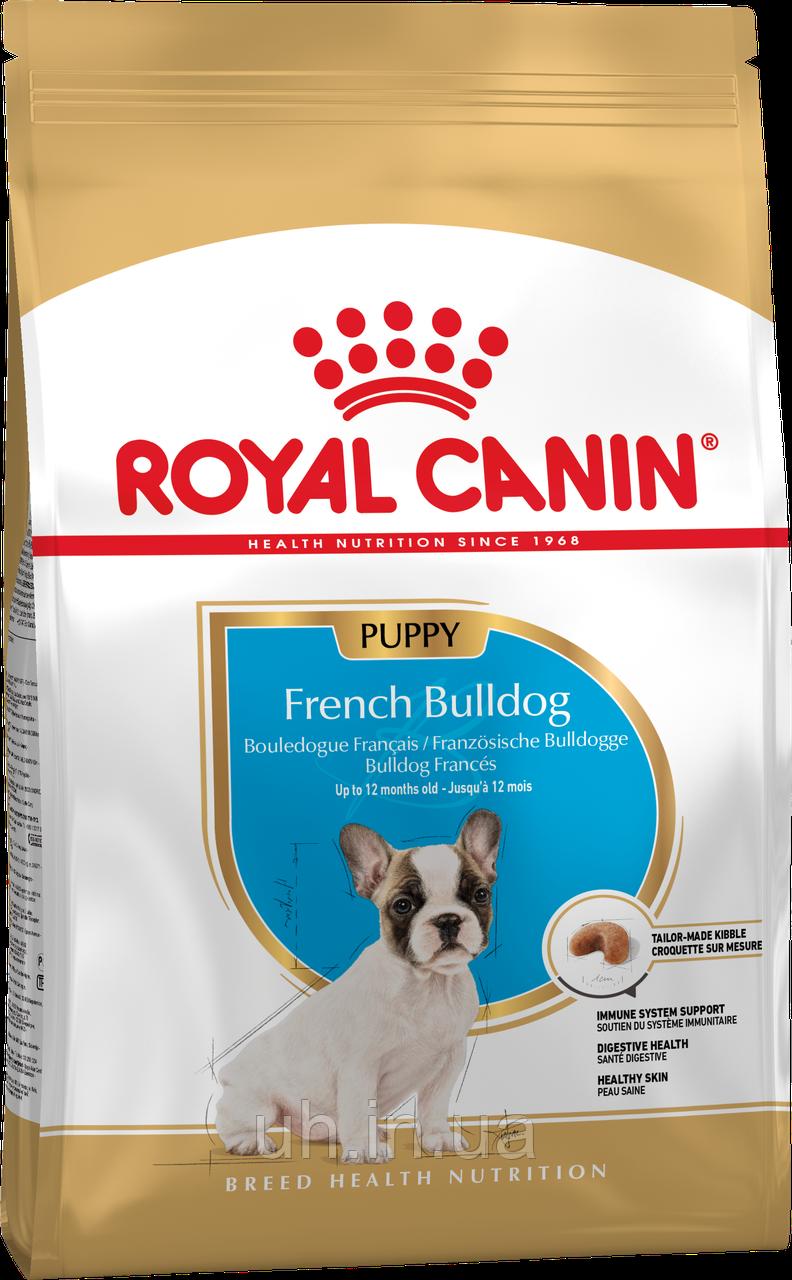 Royal Canin French Bulldog Junior сухий корм для цуценят до 1 року 1КГ