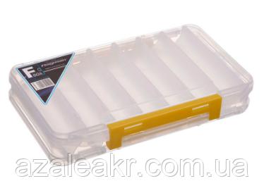 Коробка Flagman пластикова двостороння 195х123х36мм