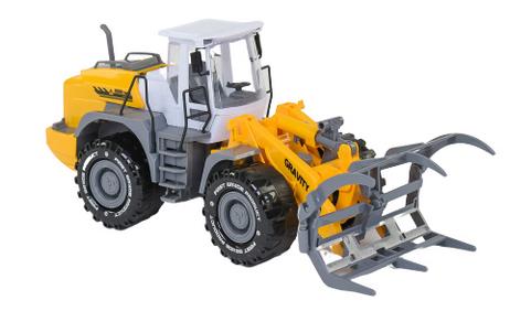 Трактор инерционный Лесовоз. Трактор детский игрушка.