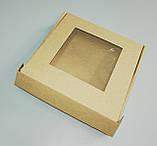 Коробка з прозорим вікном 200*200*30, фото 5