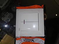 Выключатель 2-кл. с подсветкой(белый)meredian VIKO