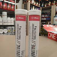 GymBeam L-Carnitine 1000мг 20 effervescent tablets карнитин в шипучих таблеках шипучках