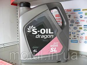 Моторное масло S-oil dragon sl 10w40