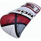 Боксерские перчатки RDX Rex Leather Red 16 ун., фото 3
