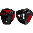 Боксерский шлем тренировочный RDX Guard S, фото 3