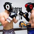 Боксерский шлем с защитой подбородка RDX WB S, фото 9