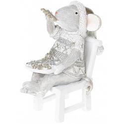 """Статуэтка """" Мышка с пряниками"""" 9.5cм"""