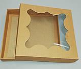 Упаковка для пряников бурая 155*155*30, фото 3