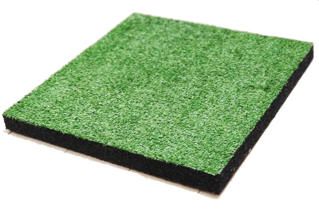 Гумова плитка-трава декоративна (40/8 мм) PuzzleGym